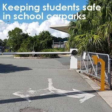 Case Study Keeping students safe in school carparks image