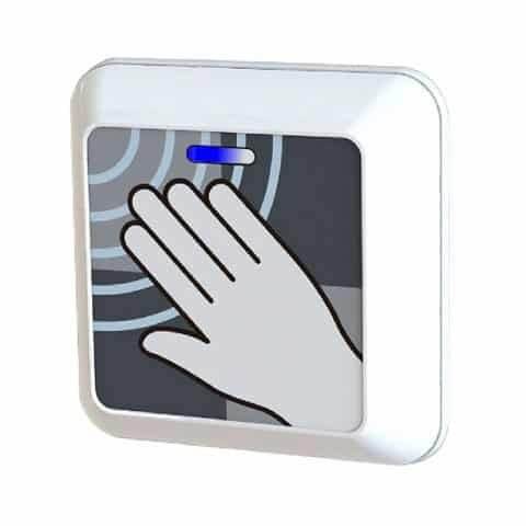 SafePass ClearWave Microwave Touchless Door Activation Sensor