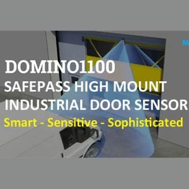 Domino1100 high mount industrial door sensor blog image