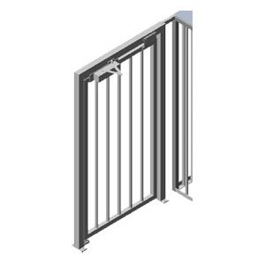 TriStar Full Height Turnstile Wide Access Gate